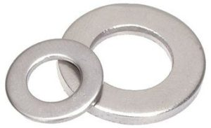 Metric DIN 125 Flat Washers type A Stainless Steel